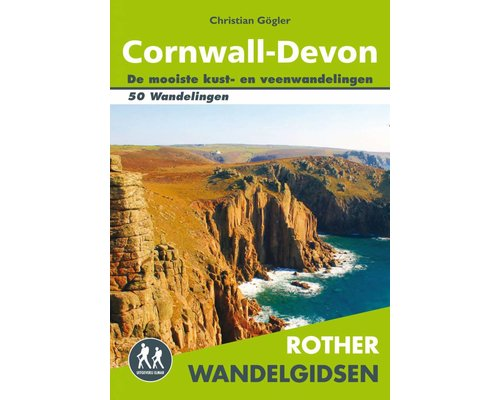 Rother Wandelgids Cornwall-Devon