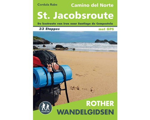 Rother Wandelgids Camino del Norte - St. Jacobsroute
