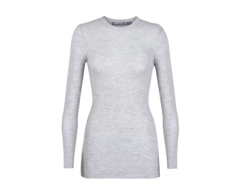 Icebreaker Valley Slim Crewe Sweater women