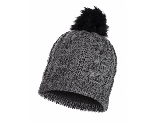 BUFF® BUFF Knitted&Polar Hat Darla, grey pewter