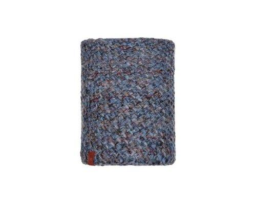 Knitted & Polar Neckwarmer, margo blue