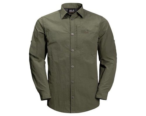 Jack Wolfskin Lakeside Roll-Up Shirt men