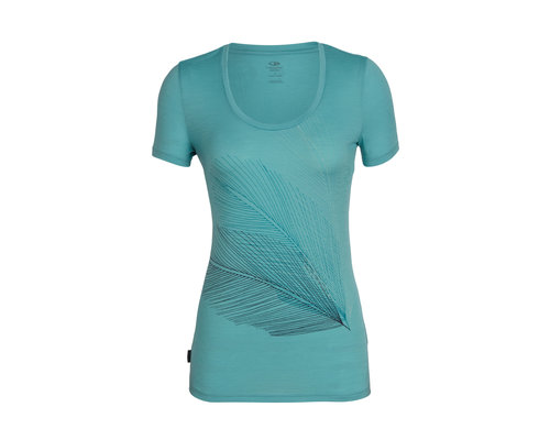 Icebreaker Tech Lite SS Scoop Plume Shirt women