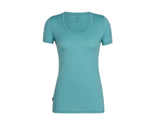 Icebreaker Tech Lite SS Scoop Shirt women