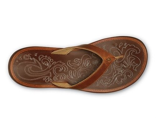 OluKai Paniolo slippers women