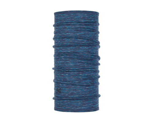 BUFF Lightweigt merino wool 3/4, blue multi stripes