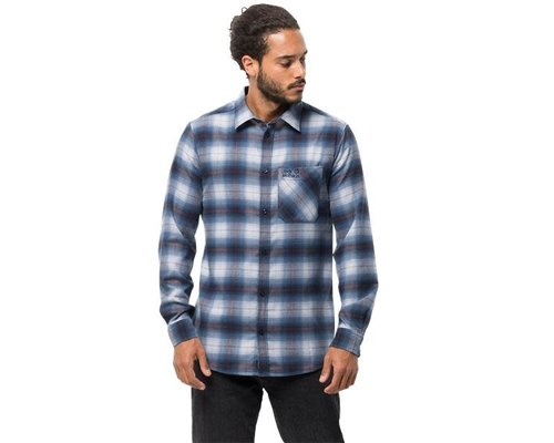 Jack Wolfskin Light Valley Flannel Shirt men