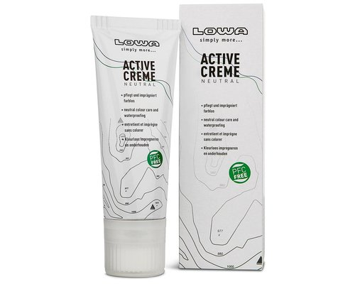 Lowa Active Creme 75ml PFC free colorless