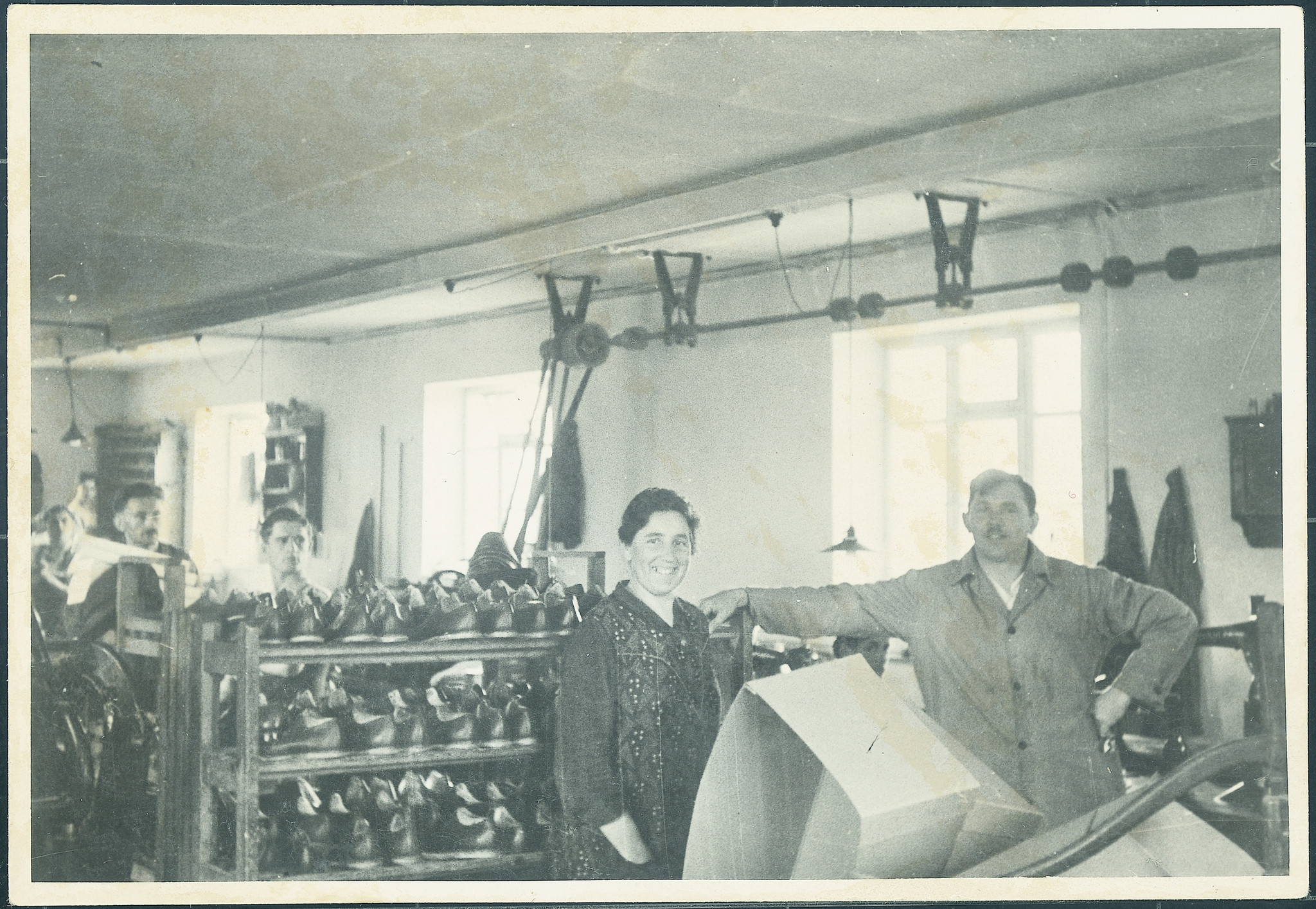 Oude werkplaats in Vierkirchen