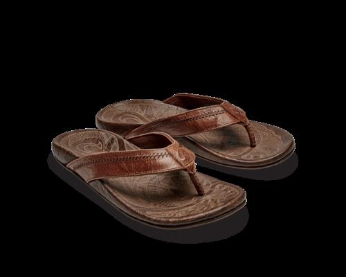 OluKai Hiapo slippers men