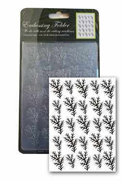 Central Craft Collection Embossing Folder Pine 10,5x15cm