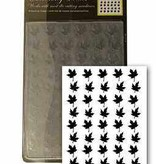Central Craft Collection Embossing Folder Leaf 10,5x15cm
