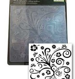 Central Craft Collection Embossing Folder Swirl 15x15cm