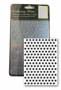 Central Craft Collection Embossing Folder Flower 10,5x15cm