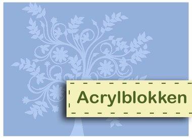Blocs acryliques