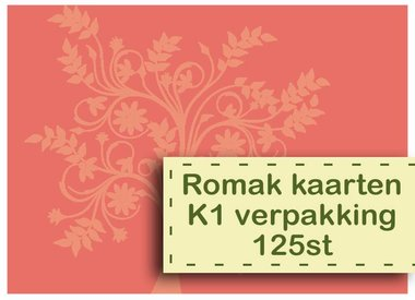 Romak cards K1 package 125st