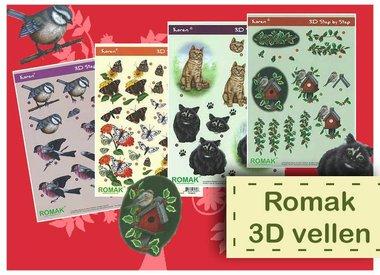 Romak 3D vellen
