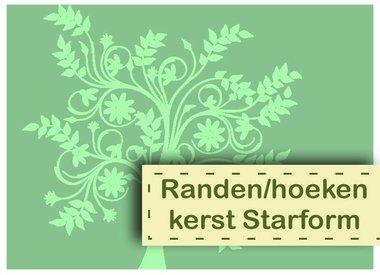 Randen/Hoeken Kerst Starform