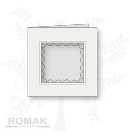 Romak Romak Card Ivory 125 pieces