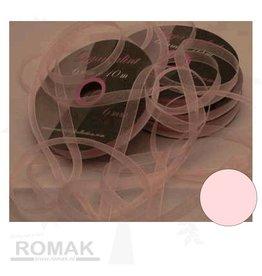 Central Craft Collection 3mm Ruban organza rose de bébé