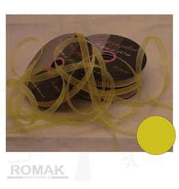 Central Craft Collection 6mm gelbes Band Organza