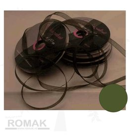 Central Craft Collection Band Organza 3mm Moss
