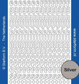 Starform Aufkleber Alphabet klein