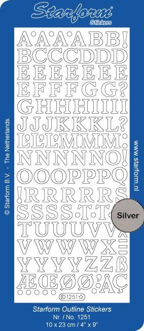 Starform Alphabet Medium Capitals