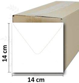Romak Envelopes square white Romak