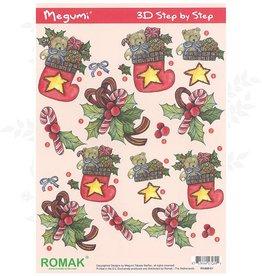 Romak 3D sheet Romak Megumi Christmas
