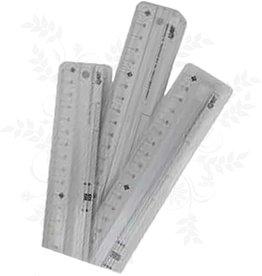 Lineal Aluminium 30 cm