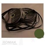 Central Craft Collection 6mm Satijnlint Mosgroen