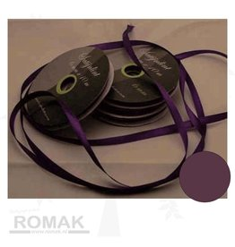 Central Craft Collection 6mm Satin-Band Dark Purple