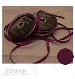 Central Craft Collection 6mm Satin Ribbon Purple
