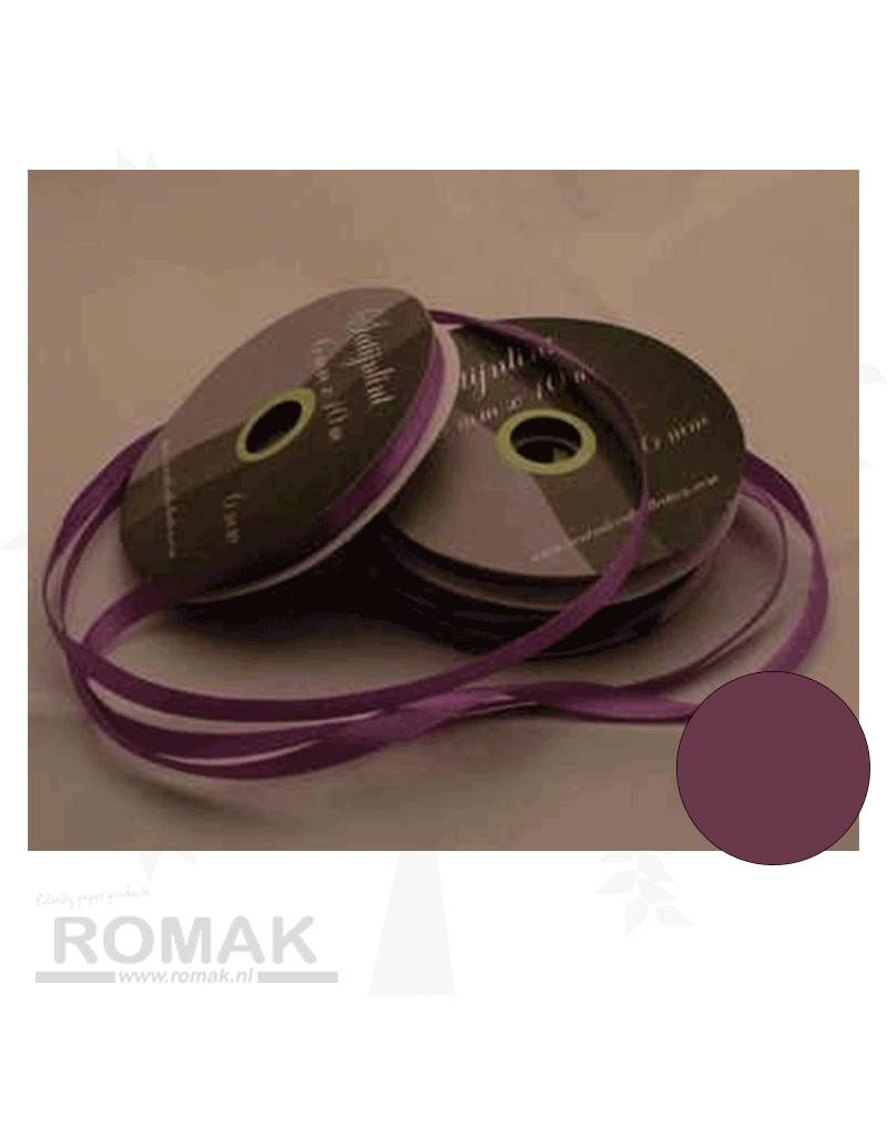 Central Craft Collection 6mm Satijnlint Donker Lila
