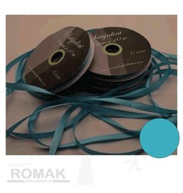 Central Craft Collection 6mm Satin Ribbon Blues