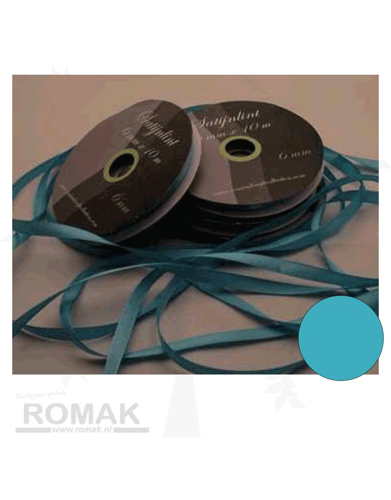 Central Craft Collection 6mm Satijnlint Blauw