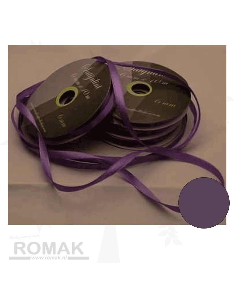 Central Craft Collection 6mm Satijnlint Licht Paars