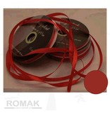 Central Craft Collection 6mm Satijnlint Rood