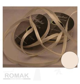 Central Craft Collection 3mm Ruban satin ivoire