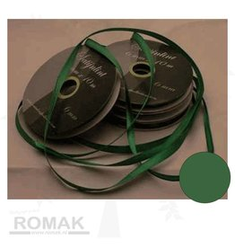 Central Craft Collection Satin-Band 3mm Grün