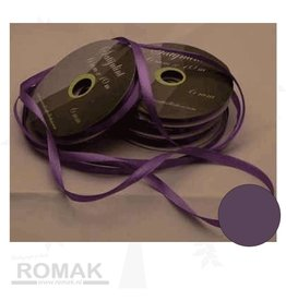 Central Craft Collection 3mm Satin Ribbon Purple
