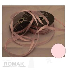 Central Craft Collection 3mm Satijnlint Baby Roze
