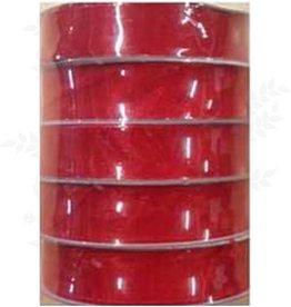 Romak Organza Lint 15 mm Rood