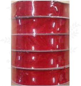 Romak Ribbon Organza 15 mm Red