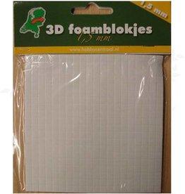 Hobbycentraal foamblokjes 1,5mm