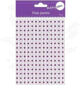Hobby Idee Plak Parels Paars 3mm