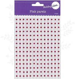 Hobby Idee Plak Parels Rood 3mm