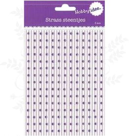 Hobby Idee Strass Lilac 3mm