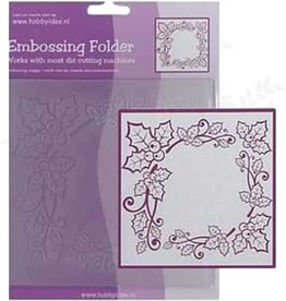 Central Craft Collection Embossing Folder 14x14cm Christmas